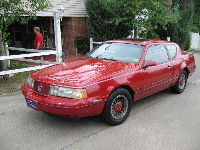1988 - Mercury, Cougar XR7