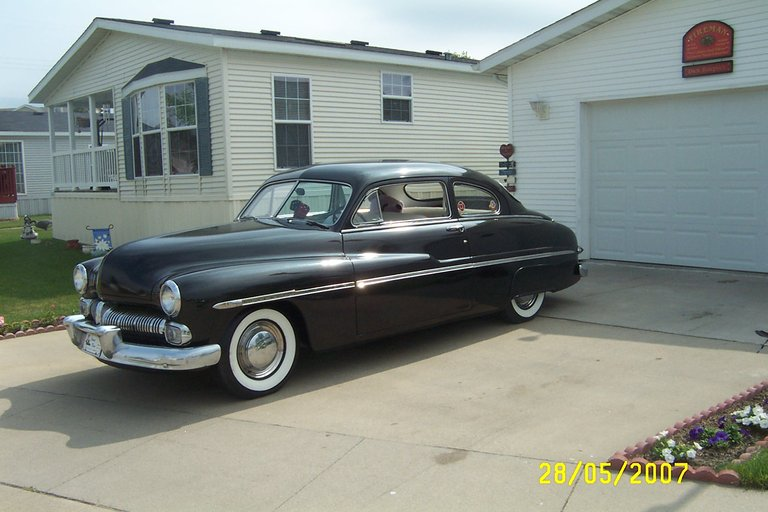 1950 - Mercury, 2 door coupe