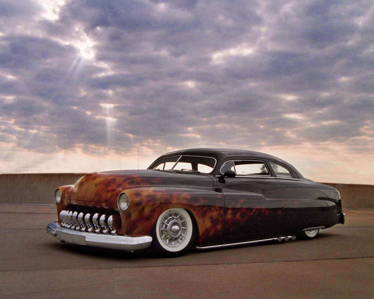 1951 - Mercury, Custom Coupe