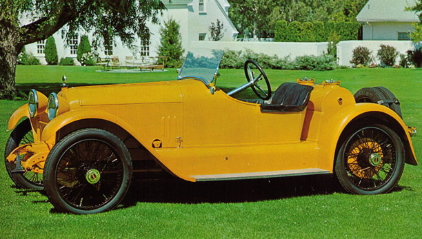 1915 - Mercer, Raceabout Series 22-70
