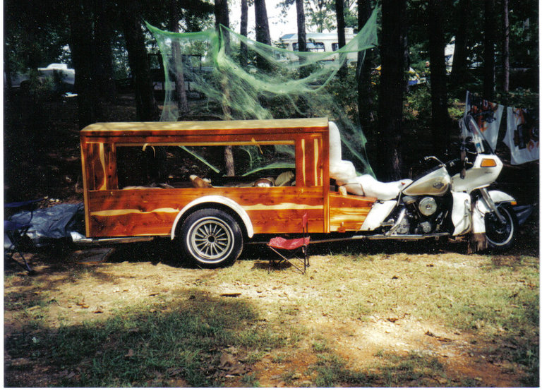 1986 - Harley Davidson  FLTC-Hearse, One of a kind