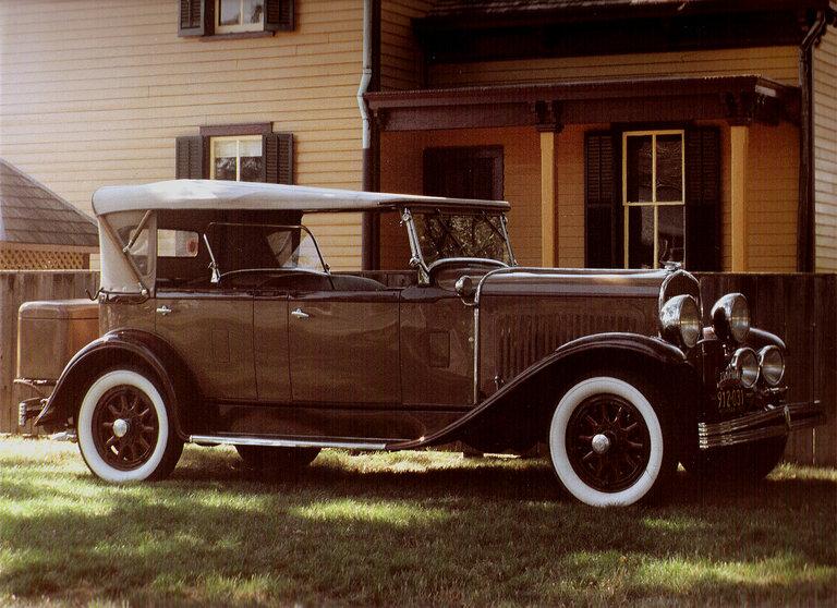 1929 - Chrysler, Model 75 Hayes bodied Dual Cowl Phaeton
