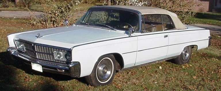 1965 - 1965 CHRYSLER IMPERIAL, CONVERTIBLE