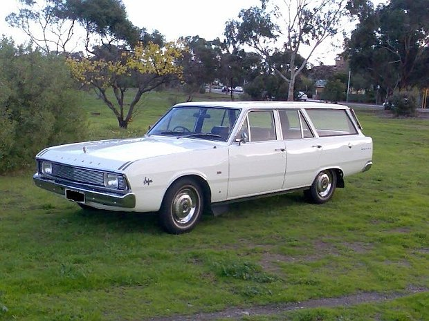 1971 - Chrysler, Valiant Regal Safari
