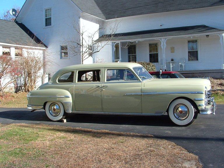 1949 - Chrysler, Imperial Crown 8 Passenger Sedan