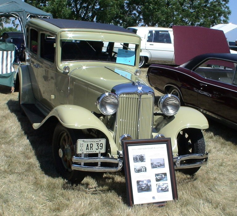1931 - Chrysler, CD8 Royal Sedan