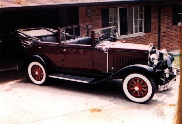 "1929 - Chrysler, Series ""75"" Locke Sedan Convertible"