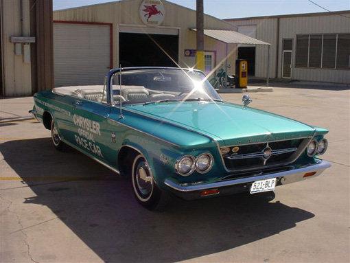 1963 - chrysler, pacesetter convertible