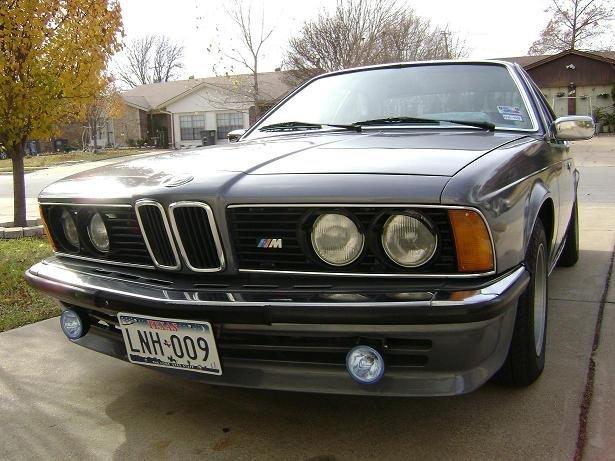 1979 - BMW, 633CSIA  EURO
