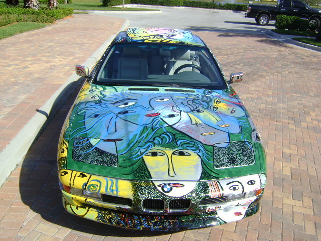1993 - BMW, 850ci 'BMW art car'