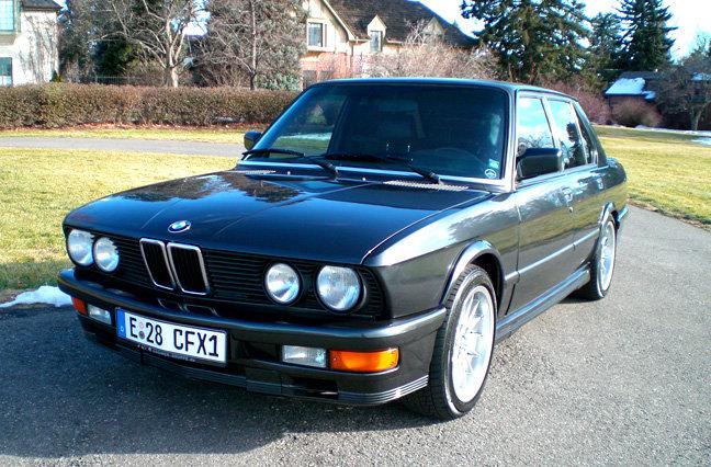 1988 - BMW, Euro Spec M535is