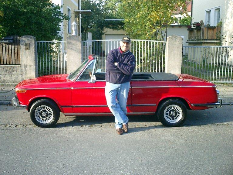 1973 - BMW, 2002 Convertable