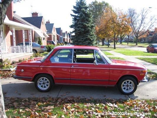 1972 - BMW, 2002tii