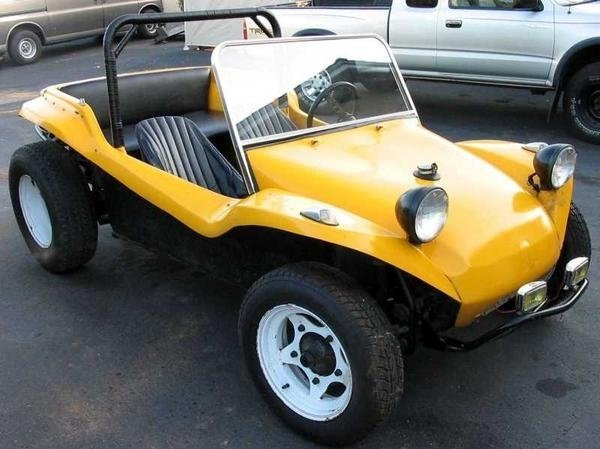 1968 - Volkswagen chassis, Meyer's Manx