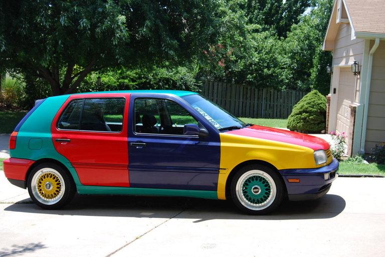 1996 - Volkswagen, Golf Harlequin