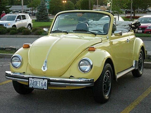 1976 - Volkswagen, Convertible