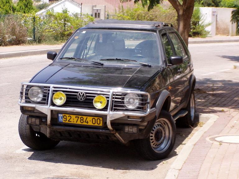 "1991 - volkswagen, golf country ""chromy"""