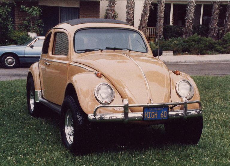 1960 - VW, Sedan w/sun roof
