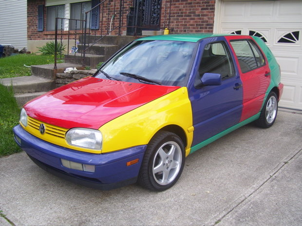 1996 - VW, Golf Harlequin