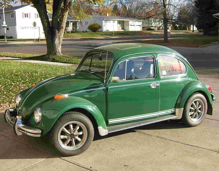 1970 - Volkswagen, Sunroof Sedan