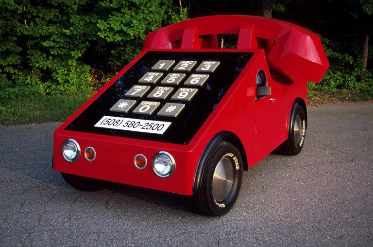 1975 - VW, Beetle Telephone Car