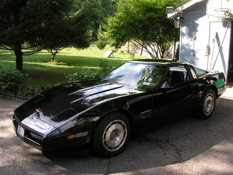 1987 - Corvette, Coupe