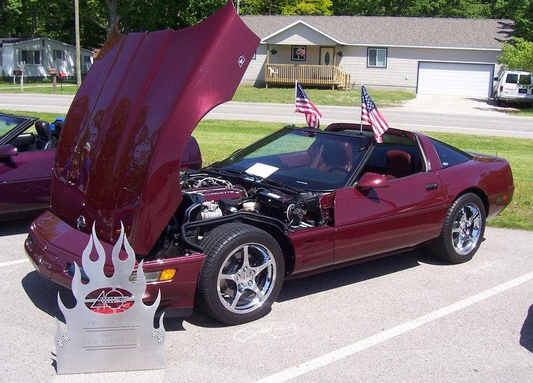 1993 - Corvette, 40th Anniversary Coupe