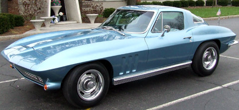 1966 - Corvette, Stingray