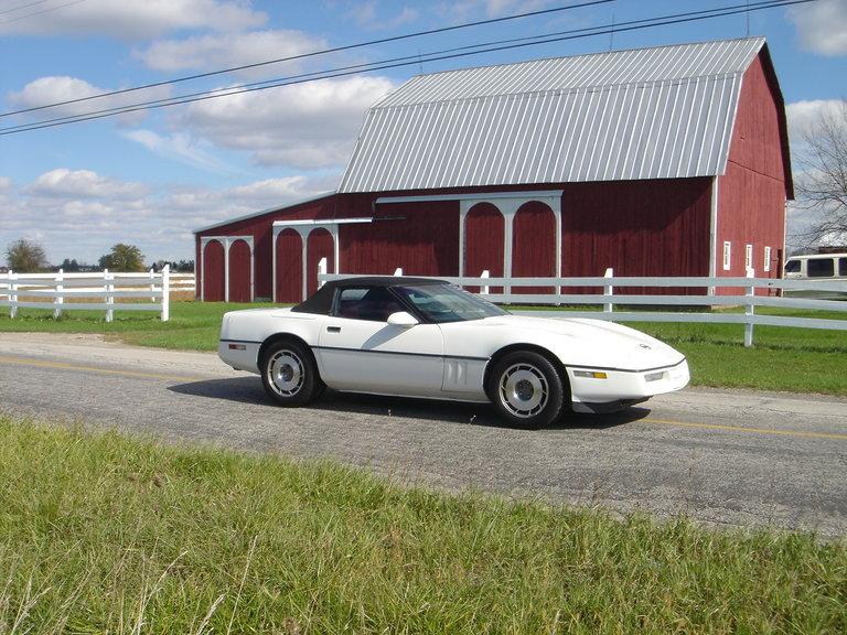 1987 - Corvette, Convertible