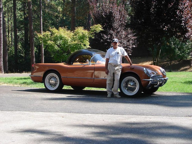 1955 - Corvette, Convertable