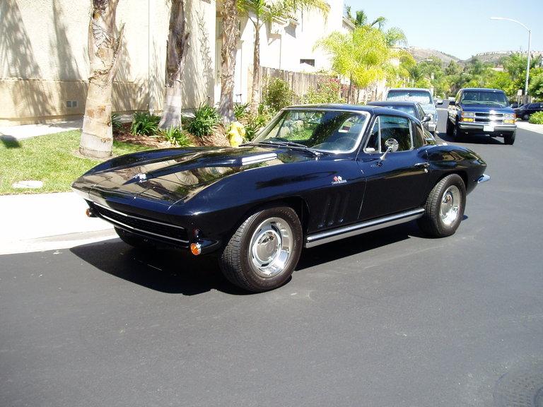 1965 - Corvette, Fast Back Coupe