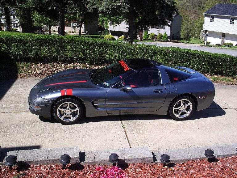 2003 - corvette, coupe