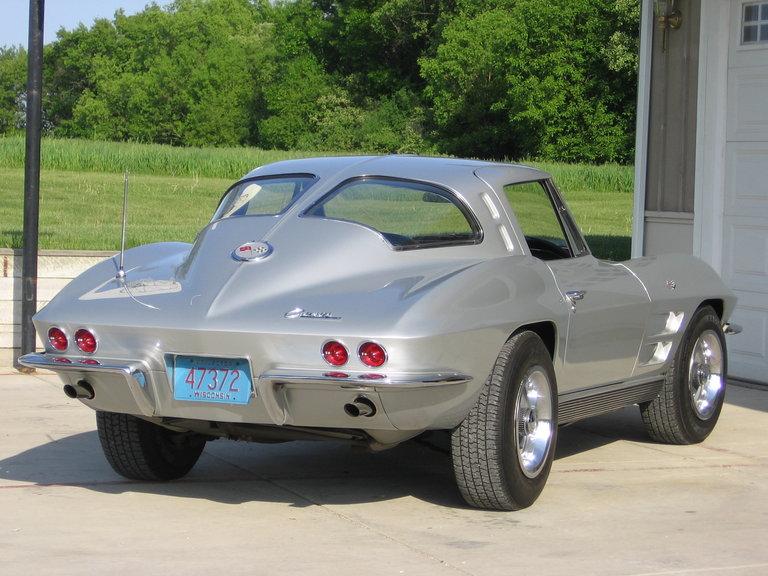 1963 - corvette, coupe