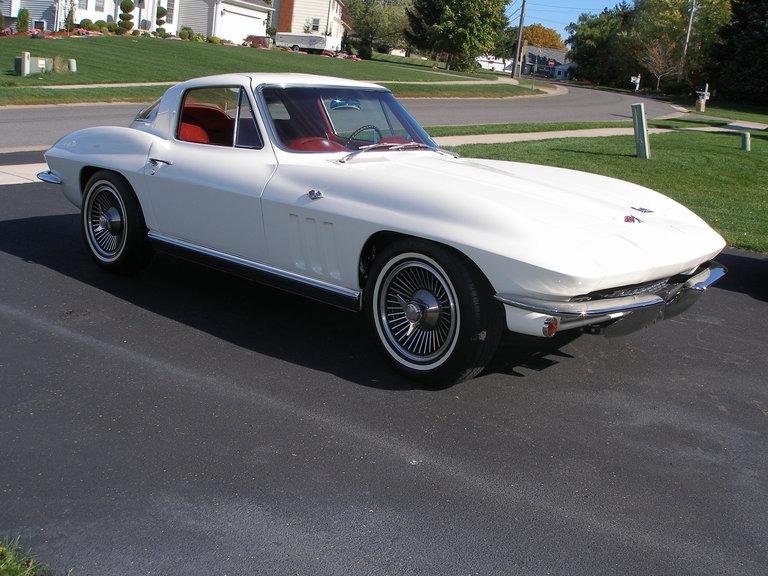 1966 - corvette, coupe