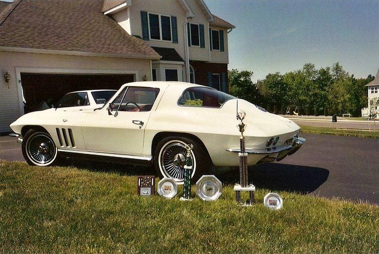 1966 - corvette, coupe 327 300h.p.