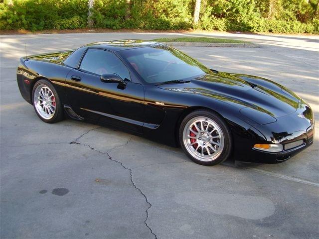 2003 - corvette, Z06 #001 frame