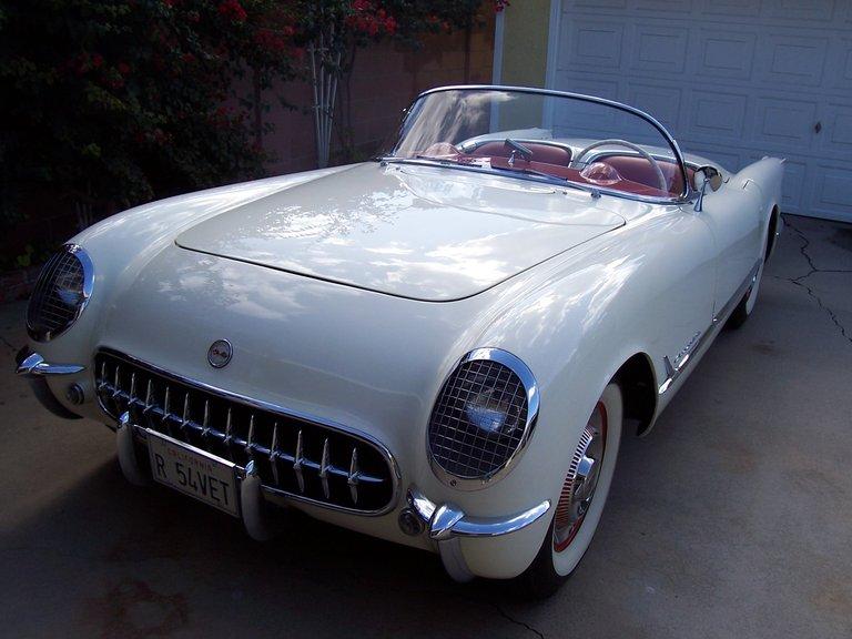 1954 - Corvette, coupe