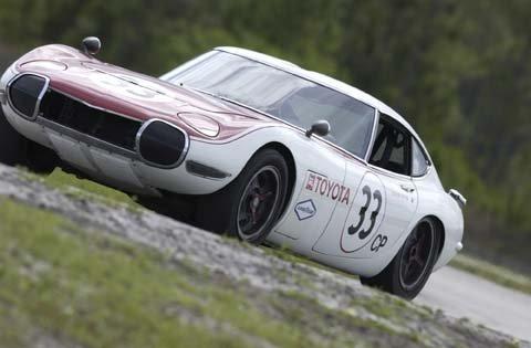 1967 - Toyota, 2000GT Shelby racecar