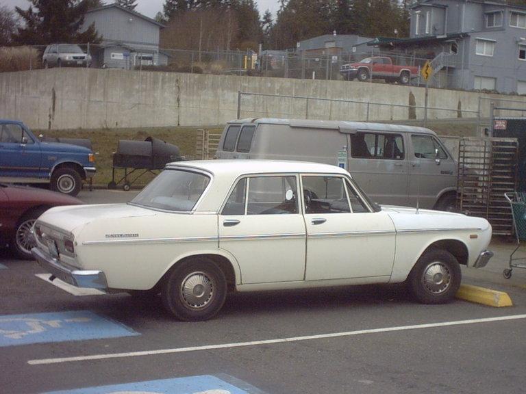 1966 - Toyota, Crown Deluxe