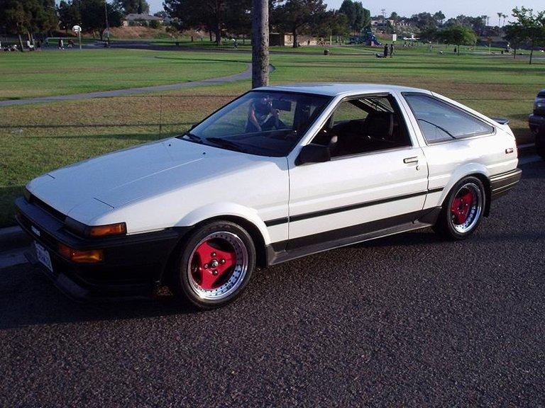 1985 - Toyota, AE86