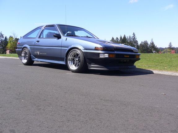 1986 - Toyota, Corolla GTS