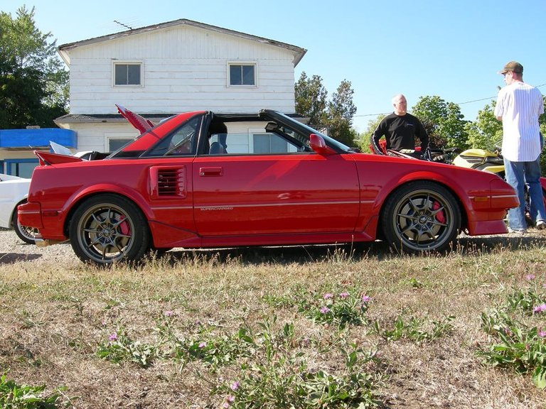 1989 - Toyota, MR2 supercharged
