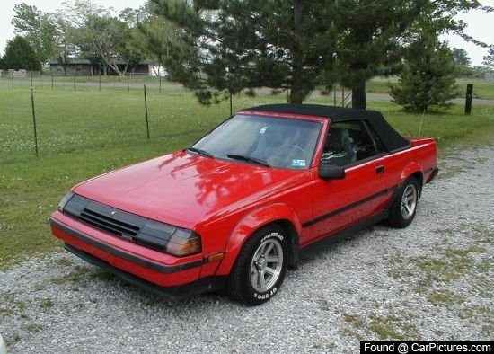 1985 - Toyota, Celica GTS Convertible