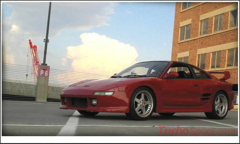 1991 - Toyota, MR2 Turbo Widebody