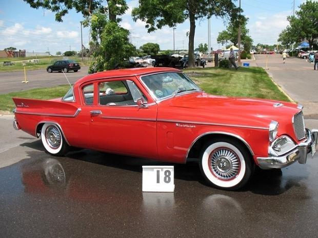 1959 - Studebaker, Silver Hawk V8