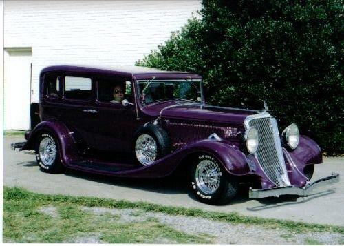 1933 - Studebaker President, Model 82,