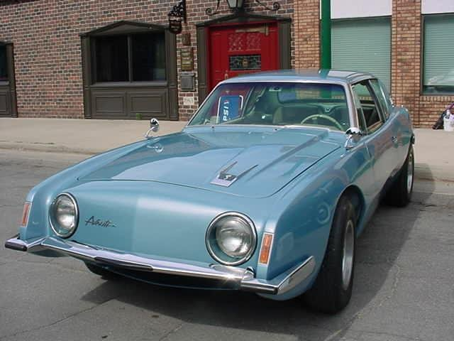 1963 - Studebaker, R1 Avanti Coupe