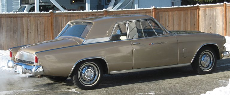 1963 - Studebaker, Gran Turismo Hawk