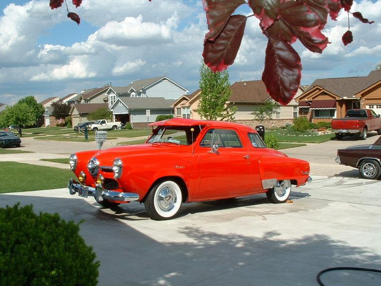 1950 - Studebaker Champion, Starlight Coupe