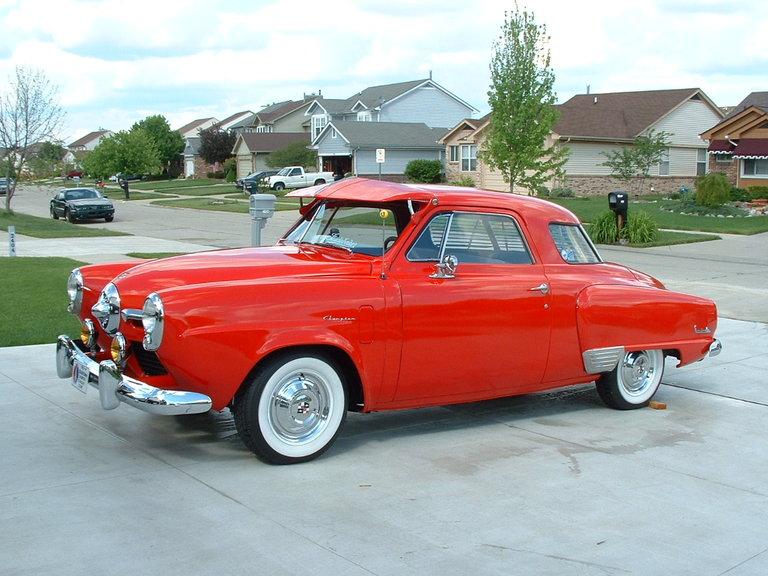 1950 - Studebaker Champion Custom, Starlight 5-Passenger Coupe